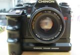 CHINON CP-5S Twin Program 50mm F1.9 (MF)