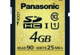 Panasonic Gold / Or 4GB class 10 (Zin)