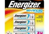 Energizer Advanced Lithium Batteries AA 4