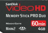 Sandisk Video HD Pro Duo 4GB 60min [OEM]